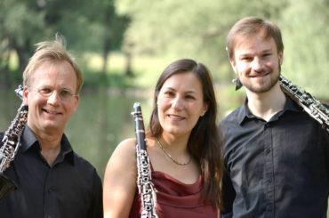 Von Klassik bis Jazz: Klarinettentrio Schmuck Gast der Konzertgesellschaft