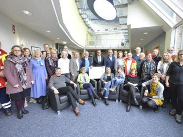 Volksbank unterstützt Gemeinnützigkeit: 12000 Euro für 22 Projekte